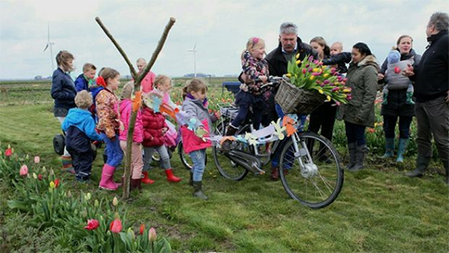 Tulpenroute Dronten geopend