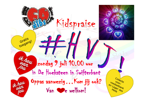 Hou van jou! door Heartbeat4kids Swifterbant