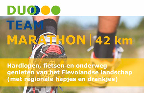 Kiekendief Duo – Team marathon 1 juni 2019